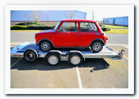 Car Transporter Trailer Hire Peterborough